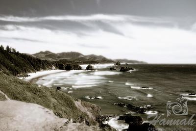 Cannon Beach, Oregon Coast Shot from the Ecola State Park  © Copyright Hannah Pastrana Prieto