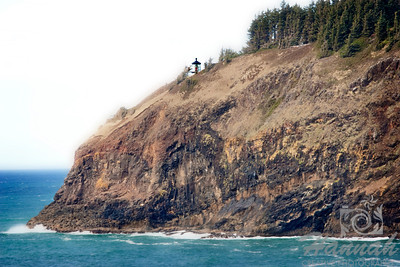 View of Cape Meares Lighthouse located in the Oregon Coast  © Copyright Hannah Pastrana Prieto