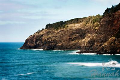 View of Cape Meares located in the Oregon Coast  © Copyright Hannah Pastrana Prieto