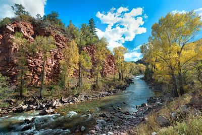 Fall color near Granite