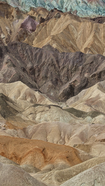 20 Mule Team Canyon, Death Valley.