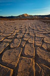 Eureka Dunes and playa, Death Valley