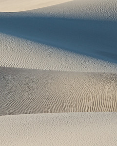 Mesquite Dunes detail, Death Valley.