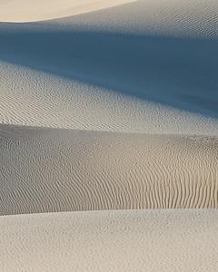 Mesquite Dunes detail, Death Valley.
