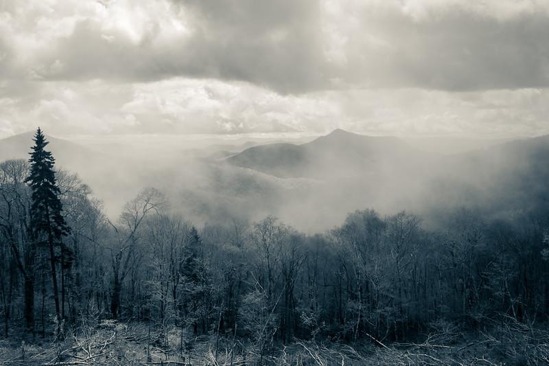 Great Smokey Mountains Vista