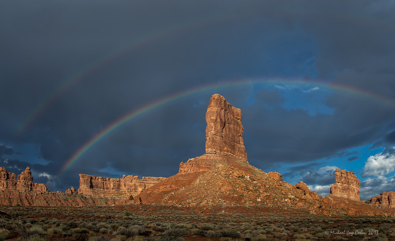 Valley of the Gods, Double Rainbow