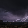 Lightning in the Valley of the Gods