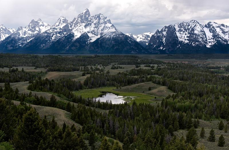 Majesty of the Teton Range