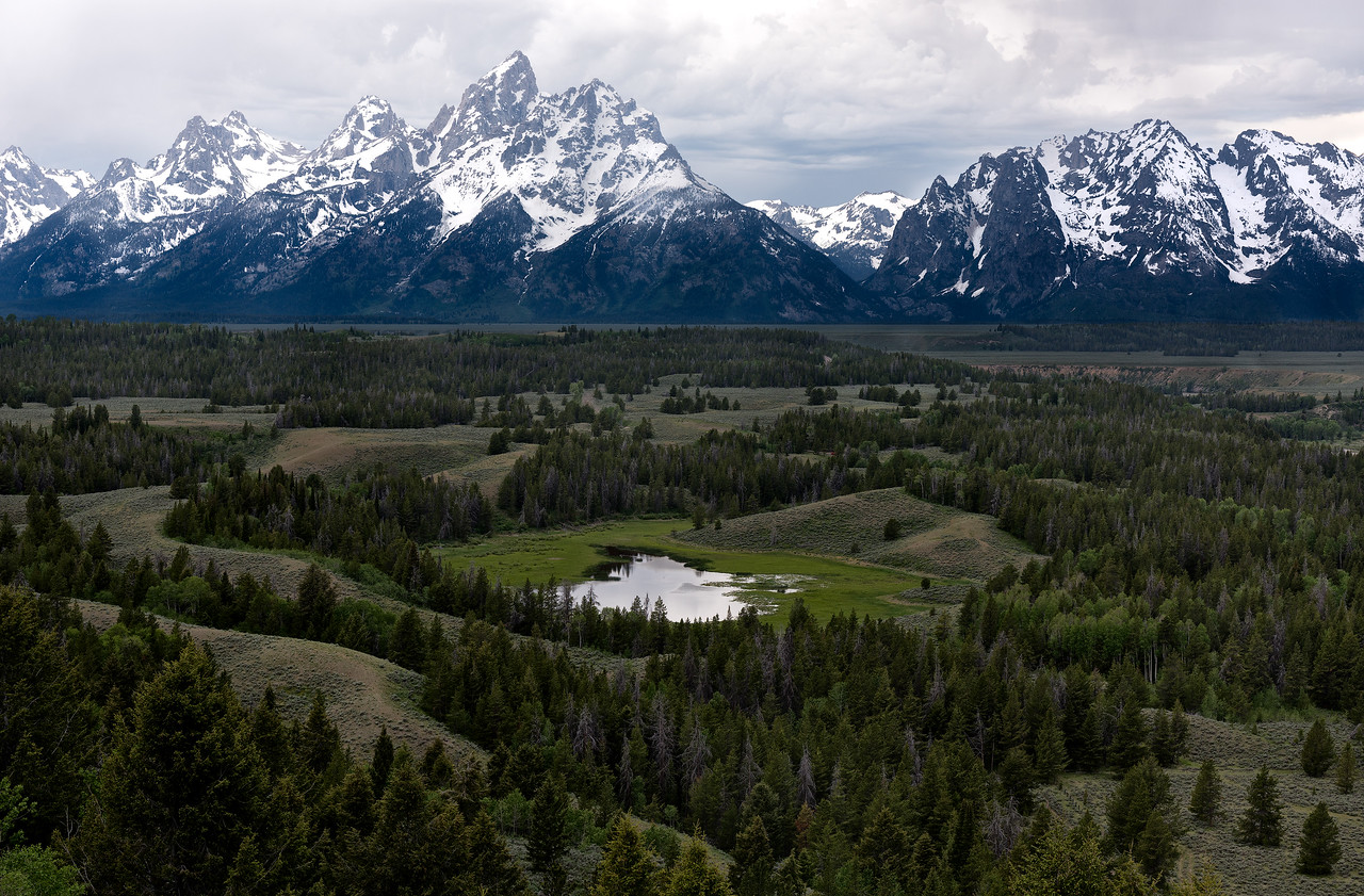 Majesty of the Teton Range