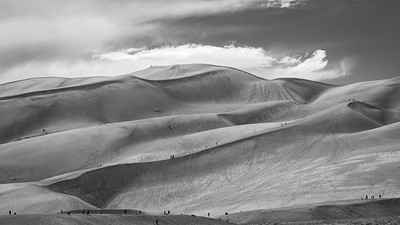 High Dune in Great Sand Dunes National Park