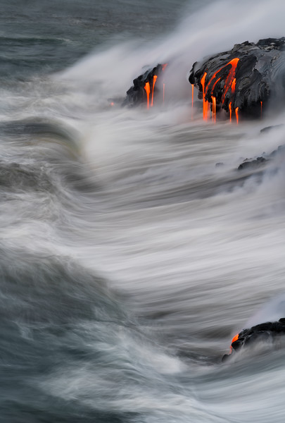"""Waves & Lava"""