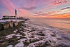 Hillsoboro Lighthouse Dawn from North Rocks 8264 (1 of 1)