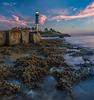 Hillsoboro Lighthouse Dawn North Side Pano 8855 (1 of 1)