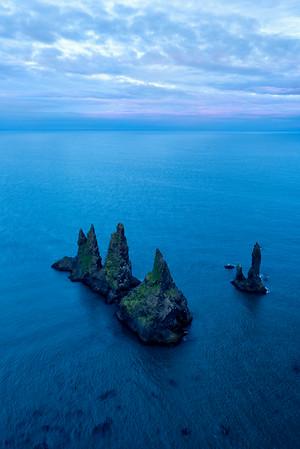 Sea Stacks, Vík í Mýrdalur, Iceland