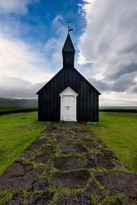 Little Black Church at Búðir