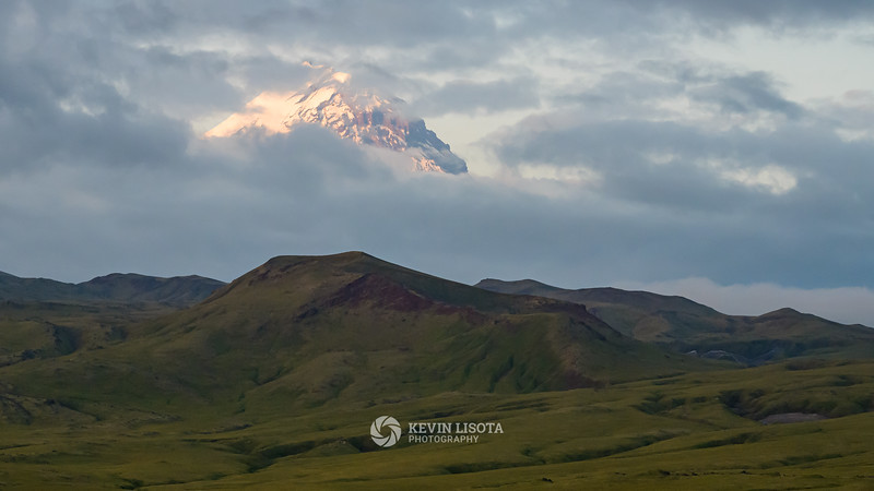 Kamen volcano on the Kamchatka Peninsula in Russia