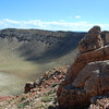 meteor crater rocks