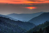 Sunset, Morton Overlook, Great Smoky Mountains National Park