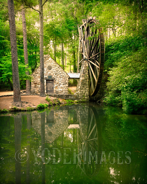 The Old Mill, Berry College, Georgia.