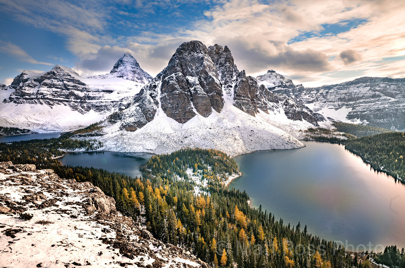 SUNBURST PEAK, MT. ASSINIBOINE; ASSINIBOINE PROVINCIAL PARK, CANADA