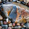 BEACH COBBLE, HUNTER BEACH
