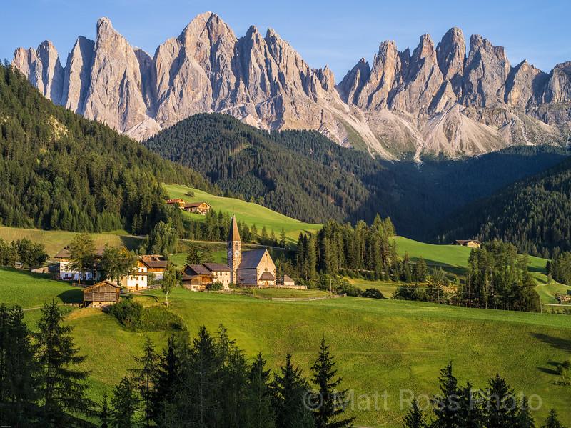 SANTA MADDALENA, OLDE GROUP, DOLOMITES, ITALY