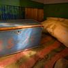 1836: BED, ANTIQUE BOX