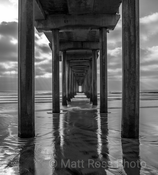 LIGHT AT THE END OF THE PIER