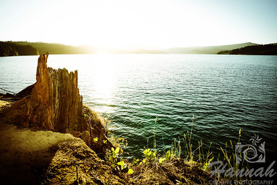 Sunset at Henry Hagg Lake & Scoggins Valley Park in Oregon  © Copyright Hannah Pastrana Prieto