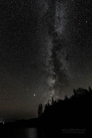 Milky Way Galaxy as seen from Hunters Beach - Acadia National Park, Maine