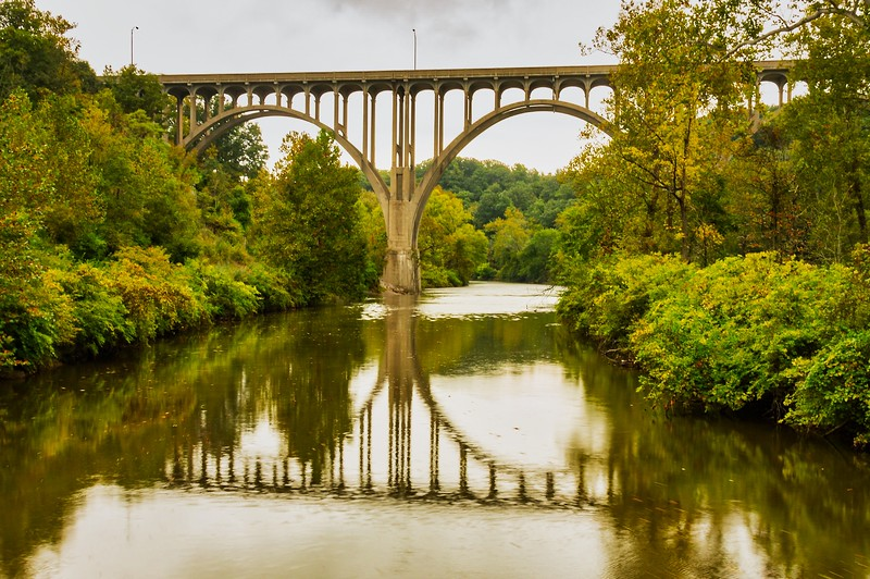 Station Road Bridge over the Cuyahoga River