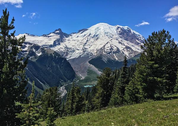 Snow-Capped Mount Rainier