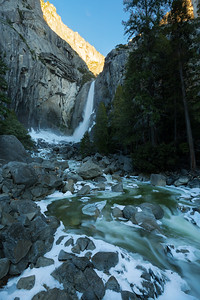 Golden Band. Lower Yosemite Falls