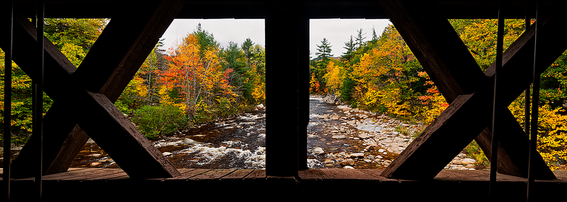 """19""          Albany Covered Bridge, Kancamagus HIghway"