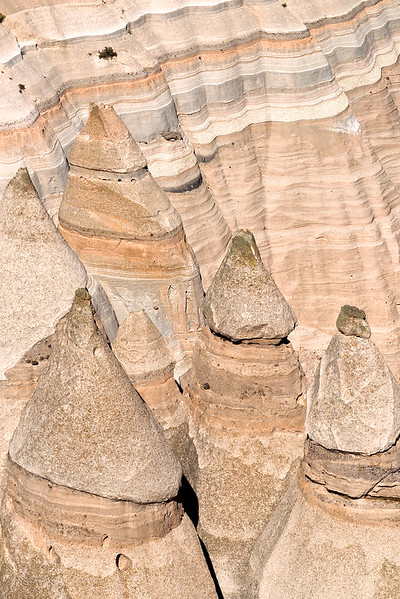 Tent Rocks in Tent Rocks National Monument