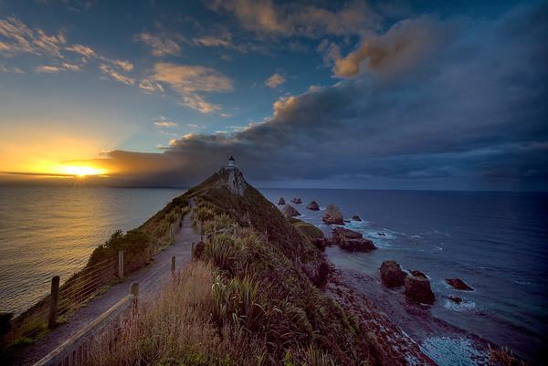 Nugget Point sunrise