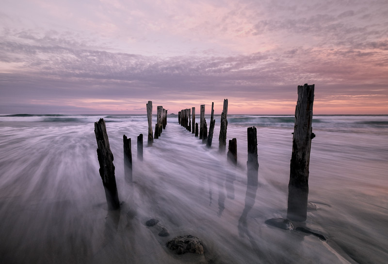 """Remnants of a Pier"""