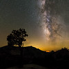 Fire and Milkyway - Olmsted Point