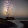 Milky Ocean under Milky way