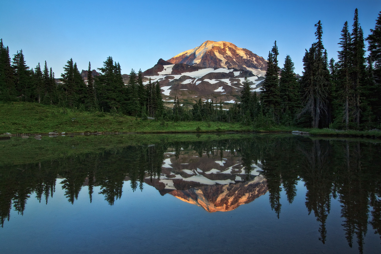 """Rainier Reflection"""