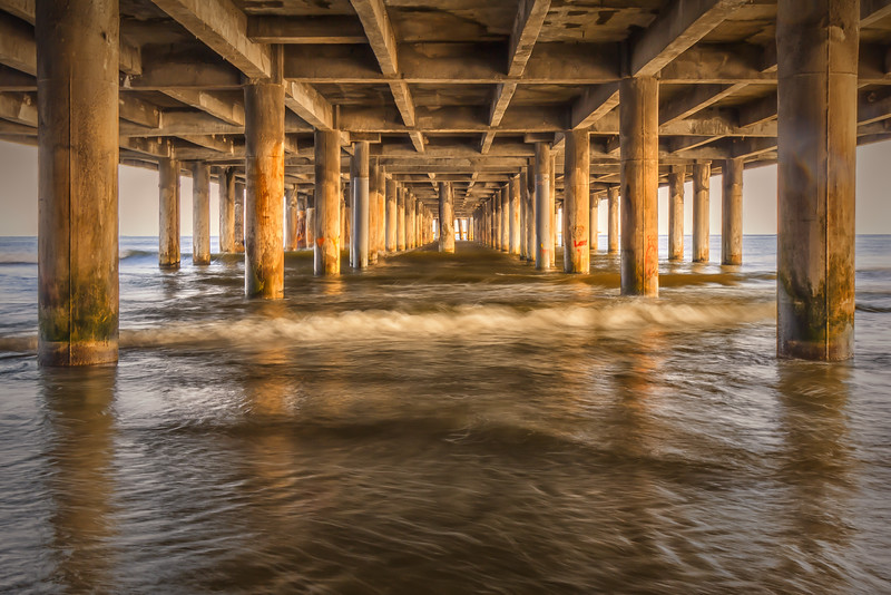 Under Pleasure Pier - Galveston, TX