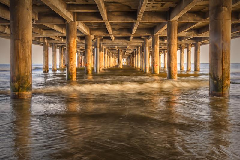 Under Pleasure Pier - Galveston, TX