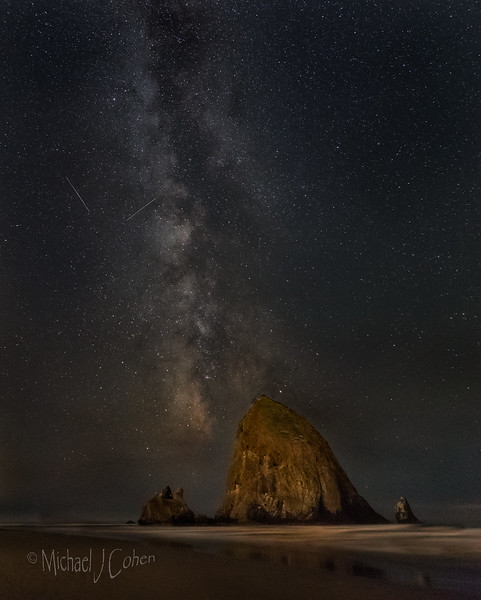Cannon Beach Milky Way-9489