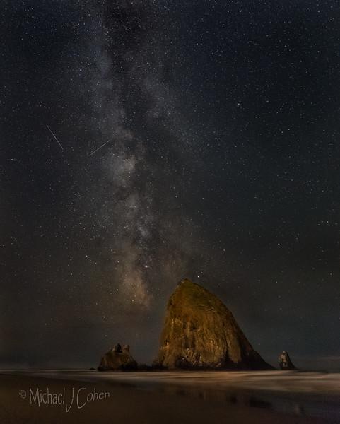 Cannon Beach Milky Way-9489