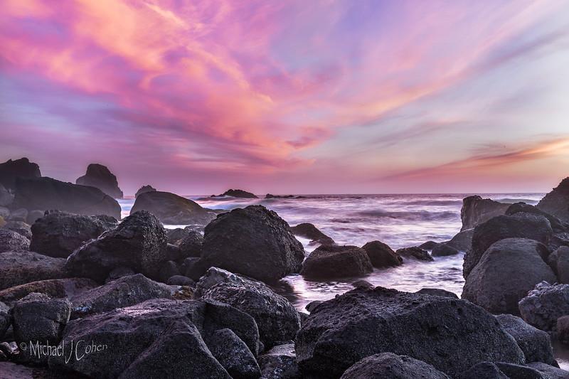 Ruby Beach Rocks and Sky-2