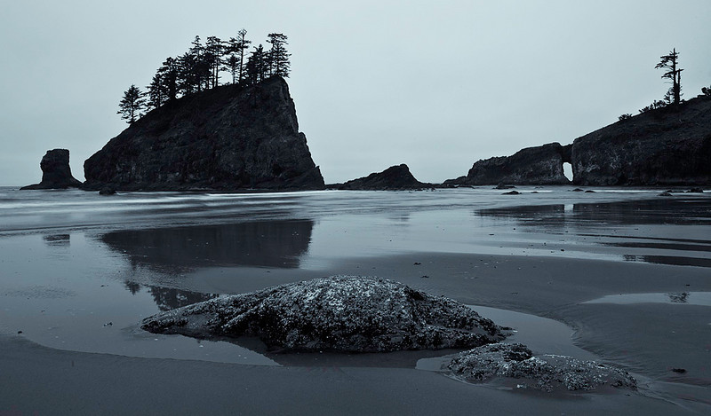 Second Beach Olympic National Park, Washington