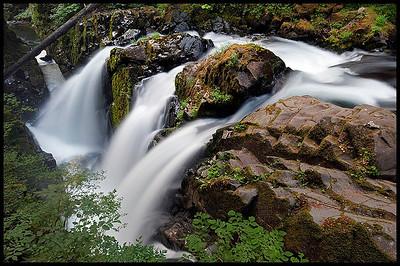 Sol duc Falls Olympic National Park, Washington