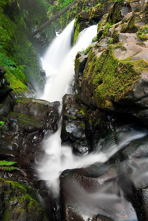 Sol duc Falls Olympic National Park, Washington