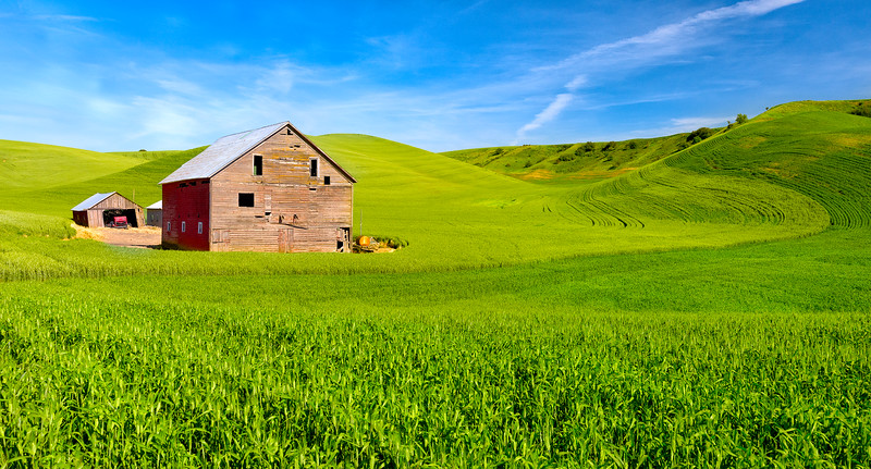 One barn + two points of view = Two Different Feelings, part one