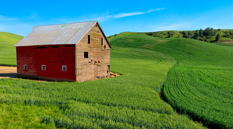 One barn + two points of view = Two Different Feelings, part two